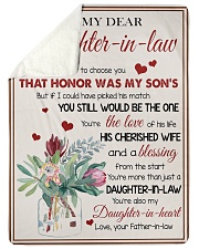 """YOU'RE MORE THAN JUST A DAUGHTER-IN-LAW Large Sherpa Fleece Blanket - 60"""" x 80"""" thumbnail"""