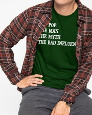 POP POP - THE MAN - THE MYTH - THE BAD INFLUENCE Classic T-Shirt apparel-classic-tshirt-lifestyle-front-169