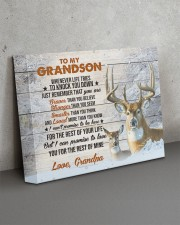THE REST OF YOUR LIFE - BEST GIFT FOR GRANDSON 14x11 Gallery Wrapped Canvas Prints aos-canvas-pgw-14x11-lifestyle-front-15