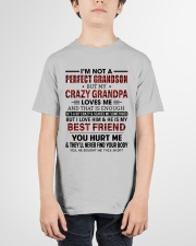CRAZY GRANDPA LOVES ME - GIFT FOR GRANDSON Youth T-Shirt garment-youth-tshirt-front-01