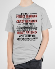 CRAZY GRANDPA LOVES ME - GIFT FOR GRANDSON Youth T-Shirt garment-youth-tshirt-front-lifestyle-01