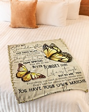 """1 DAY LEFT - GET YOURS NOW Small Fleece Blanket - 30"""" x 40"""" aos-coral-fleece-blanket-30x40-lifestyle-front-01"""