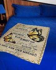 """1 DAY LEFT - GET YOURS NOW Small Fleece Blanket - 30"""" x 40"""" aos-coral-fleece-blanket-30x40-lifestyle-front-02"""