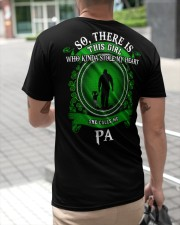 SHE CALLS ME PA - PERFECT GIFT FOR PA Classic T-Shirt apparel-classic-tshirt-lifestyle-back-115