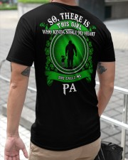SHE CALLS ME PA - PERFECT GIFT FOR PA Classic T-Shirt apparel-classic-tshirt-lifestyle-back-116