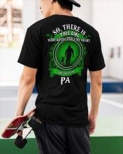 SHE CALLS ME PA - PERFECT GIFT FOR PA Classic T-Shirt apparel-classic-tshirt-lifestyle-back-68