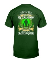 I ASKED GOD - PERFECT GIFT FOR GRANDPA Classic T-Shirt back