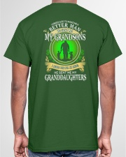I ASKED GOD - PERFECT GIFT FOR GRANDPA Classic T-Shirt garment-tshirt-unisex-back-04
