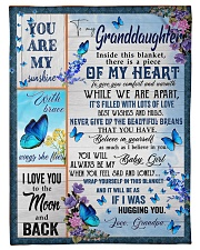 """BELIEVE IN YOURSELF - GREAT GIFT FOR GRANDDAUGHTER Small Fleece Blanket - 30"""" x 40"""" front"""