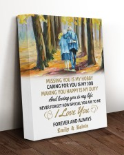 LOVING YOU IS MY LIFE - LOVELY GIFT FOR WIFE 11x14 Gallery Wrapped Canvas Prints aos-canvas-pgw-11x14-lifestyle-front-17