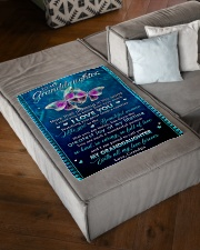 """I WANT YOU TO KNOW HOW VERY MUCH I LOVE YOU Small Fleece Blanket - 30"""" x 40"""" aos-coral-fleece-blanket-30x40-lifestyle-front-03"""