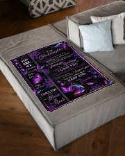"""I LOVE YOU - SPECIAL GIFT FOR GRANDAUGHTER Small Fleece Blanket - 30"""" x 40"""" aos-coral-fleece-blanket-30x40-lifestyle-front-03"""