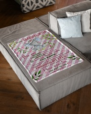 """HOW SPECIAL YOU ARE TO ME Small Fleece Blanket - 30"""" x 40"""" aos-coral-fleece-blanket-30x40-lifestyle-front-03"""