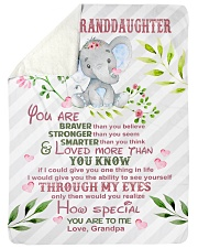"""HOW SPECIAL YOU ARE TO ME Large Sherpa Fleece Blanket - 60"""" x 80"""" thumbnail"""