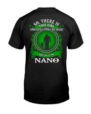 SHE CALLS ME NANO - PERFECT GIFT FOR GRANDPA Classic T-Shirt back