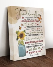 KEEP ME IN YOUR HEART - GRANDPA TO GRANDDAUGHTER 11x14 Gallery Wrapped Canvas Prints aos-canvas-pgw-11x14-lifestyle-front-17
