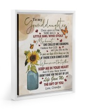 KEEP ME IN YOUR HEART - GRANDPA TO GRANDDAUGHTER 11x14 White Floating Framed Canvas Prints thumbnail