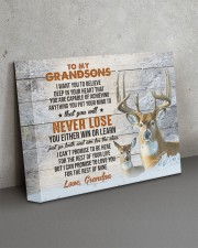 YOU WILL NEVER LOSE - GRANDPA TO GRANDSONS 14x11 Gallery Wrapped Canvas Prints aos-canvas-pgw-14x11-lifestyle-front-15