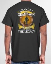 GRANDPA AND GRANDSON THE LEGEND Classic T-Shirt garment-tshirt-unisex-back-04