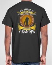 WHO KINDA STOLE MY HEART- PERFECT GIFT FOR GRANDPA Classic T-Shirt garment-tshirt-unisex-back-04