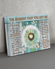 THE MOMENT THAT YOU LEFT ME 14x11 Gallery Wrapped Canvas Prints aos-canvas-pgw-14x11-lifestyle-front-15