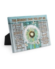 THE MOMENT THAT YOU LEFT ME 10x8 Easel-Back Gallery Wrapped Canvas thumbnail