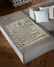 """1 DAY LEFT - GET YOURS NOW Small Fleece Blanket - 30"""" x 40"""" aos-coral-fleece-blanket-30x40-lifestyle-front-03"""