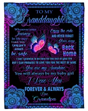 """I LOVE YOU FOREVER AND ALWAYS Small Fleece Blanket - 30"""" x 40"""" front"""