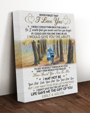 YOUR FIRST KISS - LOVELY GIFT FOR WIFE 11x14 Gallery Wrapped Canvas Prints aos-canvas-pgw-11x14-lifestyle-front-17