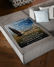 """NEVER FORGET THAT I LOVE YOU Small Fleece Blanket - 30"""" x 40"""" aos-coral-fleece-blanket-30x40-lifestyle-front-03"""