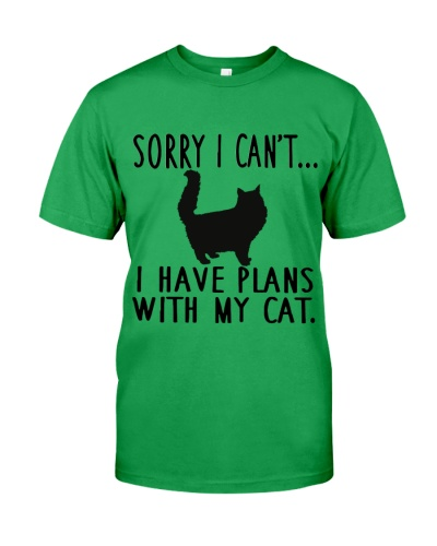 Sorry I Cant I Have Plans with My Cat