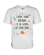 I Hope Your Birthday is as Good as Your Bum V-Neck T-Shirt thumbnail