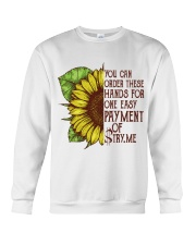 YOU CAN ORDER THESE HANDS Crewneck Sweatshirt thumbnail