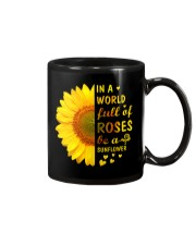 In a Wold full of Roses be a Sunflower Mug thumbnail