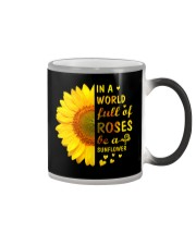 In a Wold full of Roses be a Sunflower Color Changing Mug thumbnail