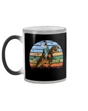 Jesus Riding Dinosaur Color Changing Mug color-changing-left