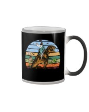 Jesus Riding Dinosaur Color Changing Mug thumbnail