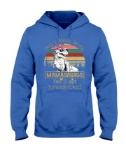 Don't Mess with Mamasaurus Hooded Sweatshirt front