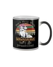 Don't Mess with Mamasaurus Color Changing Mug thumbnail