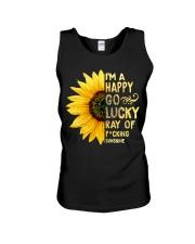 I'm a Happy Go Lucky Ray of Fucking Sunshine Unisex Tank thumbnail