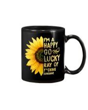 I'm a Happy Go Lucky Ray of Fucking Sunshine Mug thumbnail
