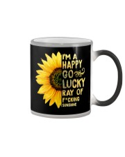 I'm a Happy Go Lucky Ray of Fucking Sunshine Color Changing Mug thumbnail