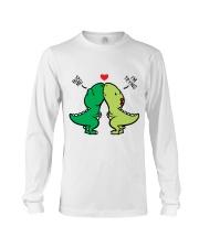 Funny Dinosaur Long Sleeve Tee thumbnail