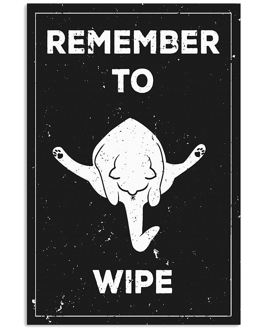 Funny Bathroom 11x17 Poster