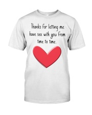 Funny Gifts Classic T-Shirt tile