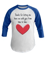 Funny Gifts Baseball Tee front