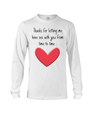 Funny Gifts Long Sleeve Tee front
