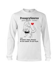 Funny Dinosaur PrangrySaurus Long Sleeve Tee thumbnail