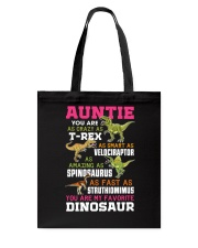 Auntie - You are my Favorite Dinosaur Tote Bag thumbnail