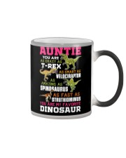 Auntie - You are my Favorite Dinosaur Color Changing Mug thumbnail